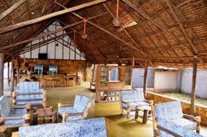Tansania - Moshi - Lodge Aufenthaltsraum - Marangu Route