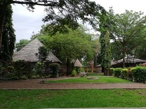 Lebhaften Ort Moshi - Tansania Highlights