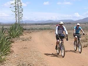 Entdecken Sie die Ausläufer des Kilimanjaro mit dem Fahrrad