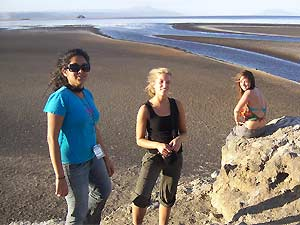 Am Lake Natron in Tansania