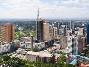 Das Stadtbild Nairobis