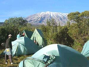 Rongai Route Simba Camp Tansania Kilimanjaro
