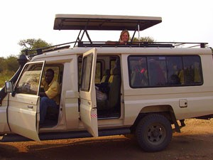 Arusha Nationalpark Landcruiser Safari Pirschfarht