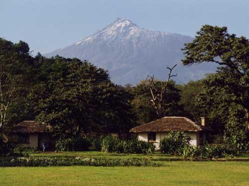 Arusha Nationalpark Unterkunft Cottage Tansania