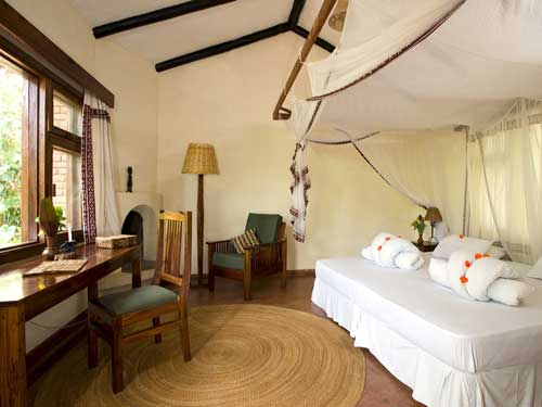 Arusha Nationalpark Unterkunft Zimmer Tansania