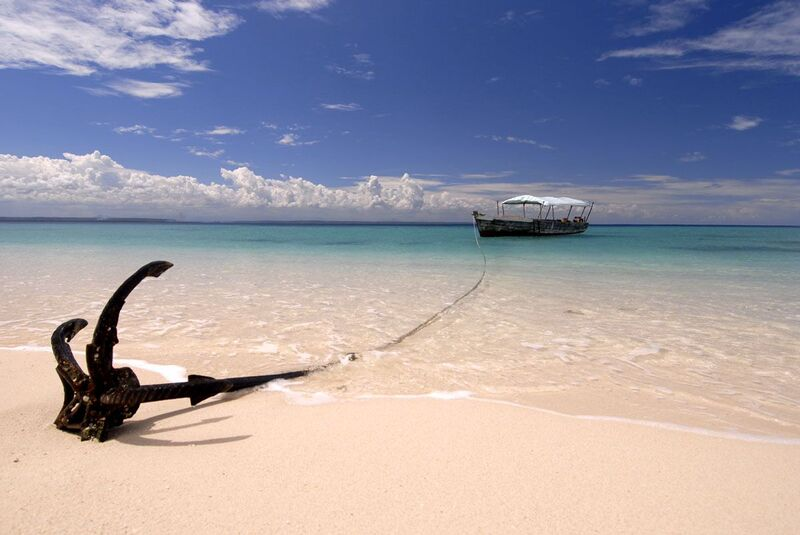 Tansania Strandurlaub Swahili Küste Maziwi Insel