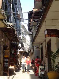 Shoppen in der Hauptstadt von Sanibar