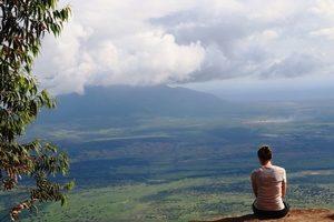 Usambaro Berge Kwamongo Peak Talblick