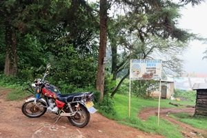 Buntes Motorrad Usambara Berge Lushoto