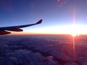 Überflug Tansania