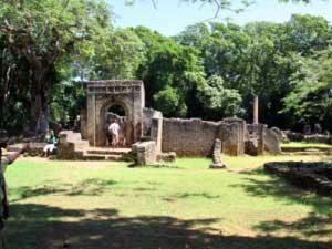 Besuch der Gedi-Ruinen