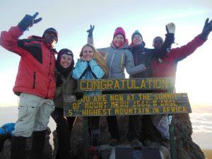 Mount Meru Besteigung Tansania Socialist Peak