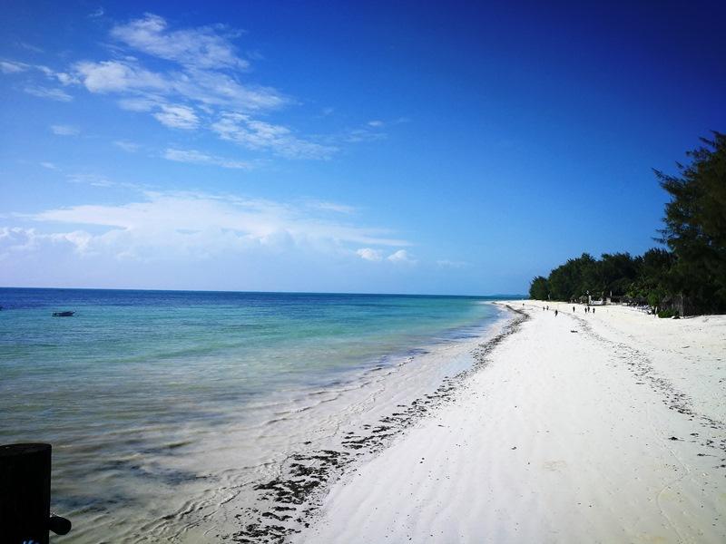 Tansania - Sansibar - weißer Sandstrand