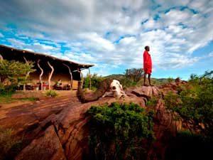 Massai Camp in Maji Moto