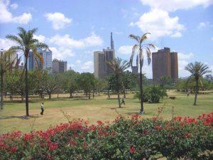 Stadtbild von Nairobi