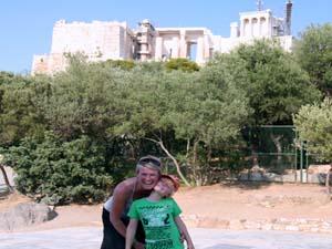 griekenland kids athene stad