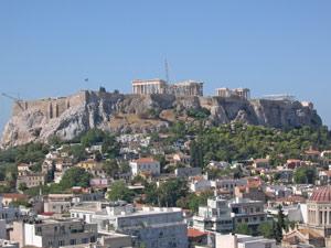 griekenland aankomst athene kids