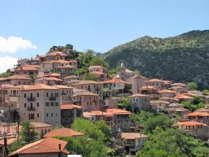 authentiek dorpje griekenland