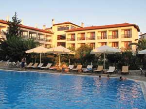griekenland comfort stay olympia zwembad