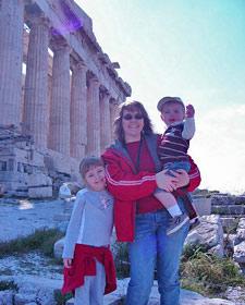 griekenland kids eilandhoppen athene