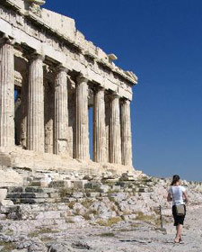 familievakantie athene acropolis