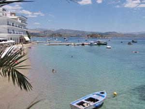 Gezinsreis Griekenland - Tolo strand