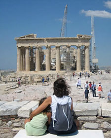 kids griekenland metro acropolis