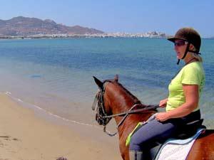griekenland kids naxos paardrijden