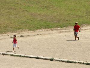 Olympisch spelen met de kids