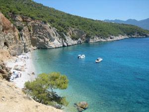 kids griekenland eiland strand