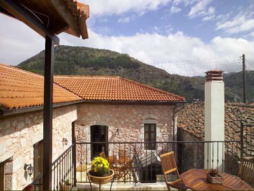griekenland terras guesthouse dimitsana