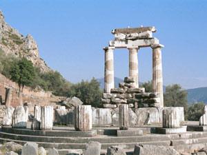 reizen naar Griekenland - tempels