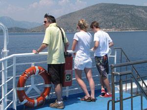 griekenland kids boottocht