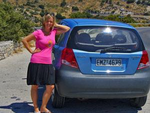 Griekenland vervoer - huurauto