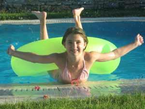 zwembad fun griekenland