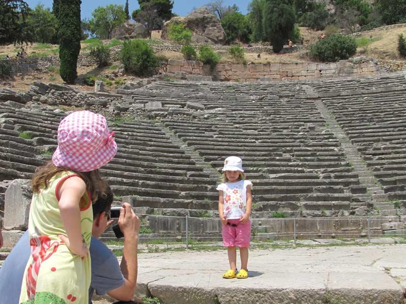 Delphi - Griekenland met kinderen