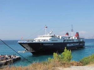 Rondreis Griekenland - ferry Agistri