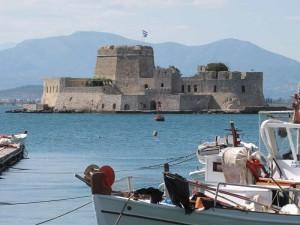 Gezinsreis Griekenland - Nafplio fort
