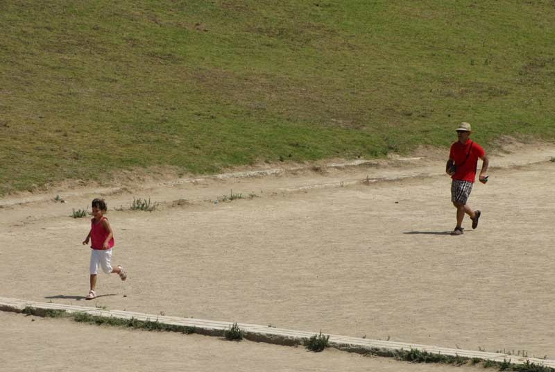 Vakantie Griekenland - Olympische race