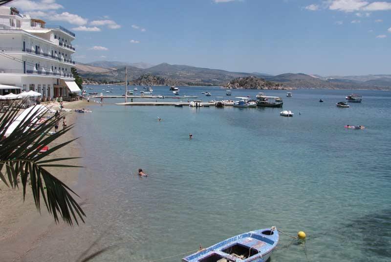 Hotel in Tolo Griekenland reis