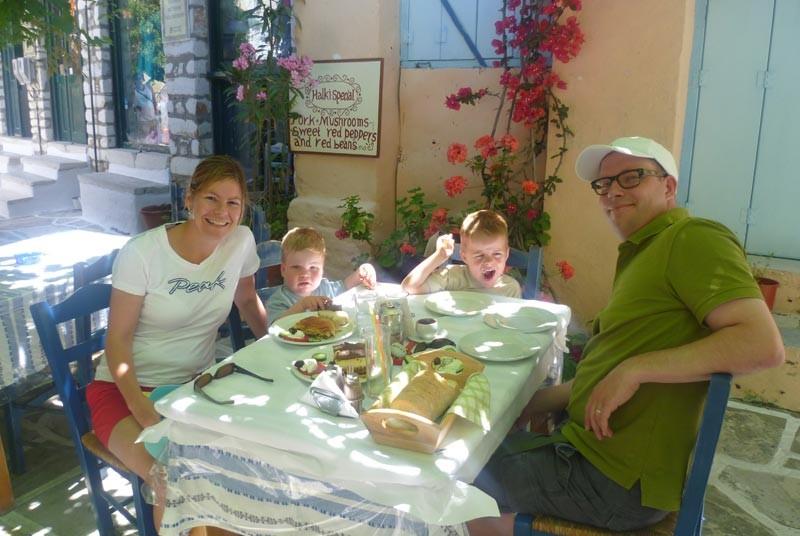 Eten met kinderen - Griekenland