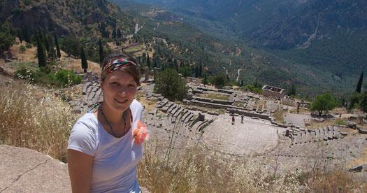 Griekenland reis met kinderen - Delphi