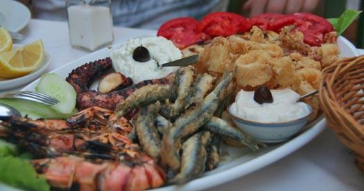 Griekenland rondreis met kinderen - eten