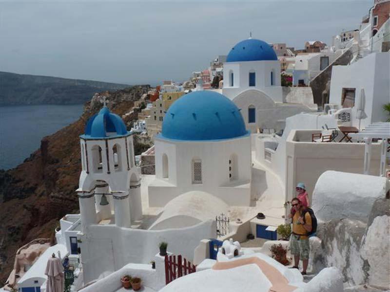 Griekenland met kids - Santorini
