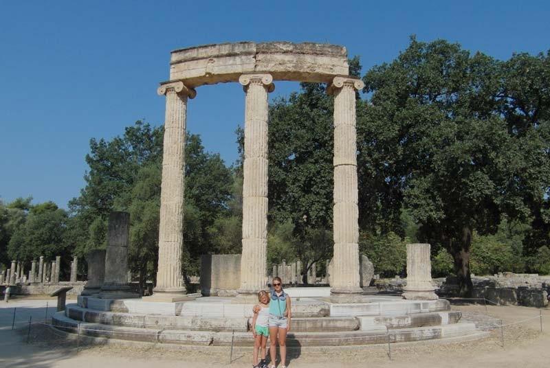 Vakantie Griekenland met kinderen - tempels