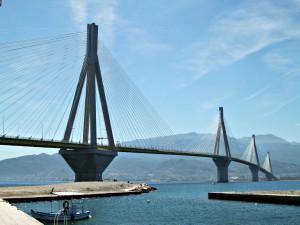 Patras brug Griekenland reis