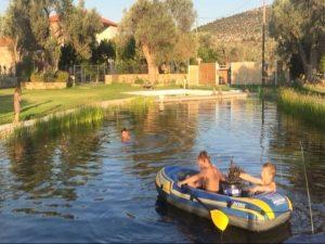 Evia Griekenland zwembad