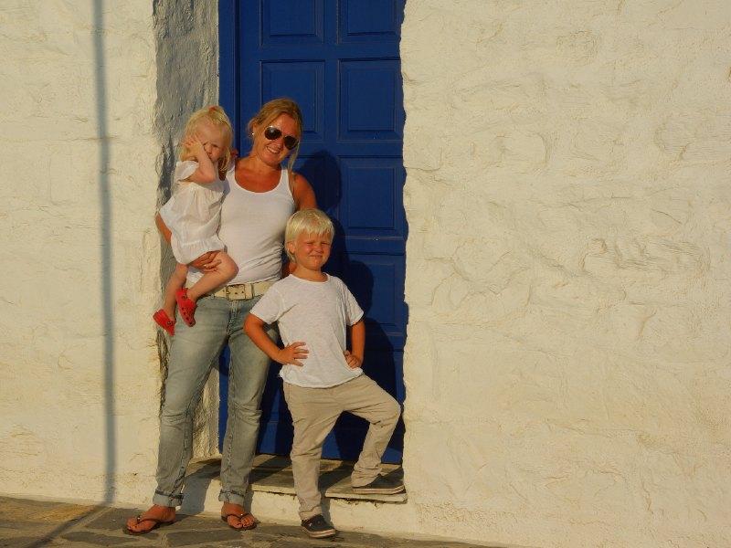 griekenland reizen met kinderen