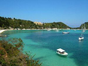 Aegina Griekenland met kinderen