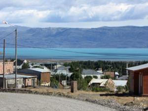 Calafate in Argentinien mit Lago Argentino